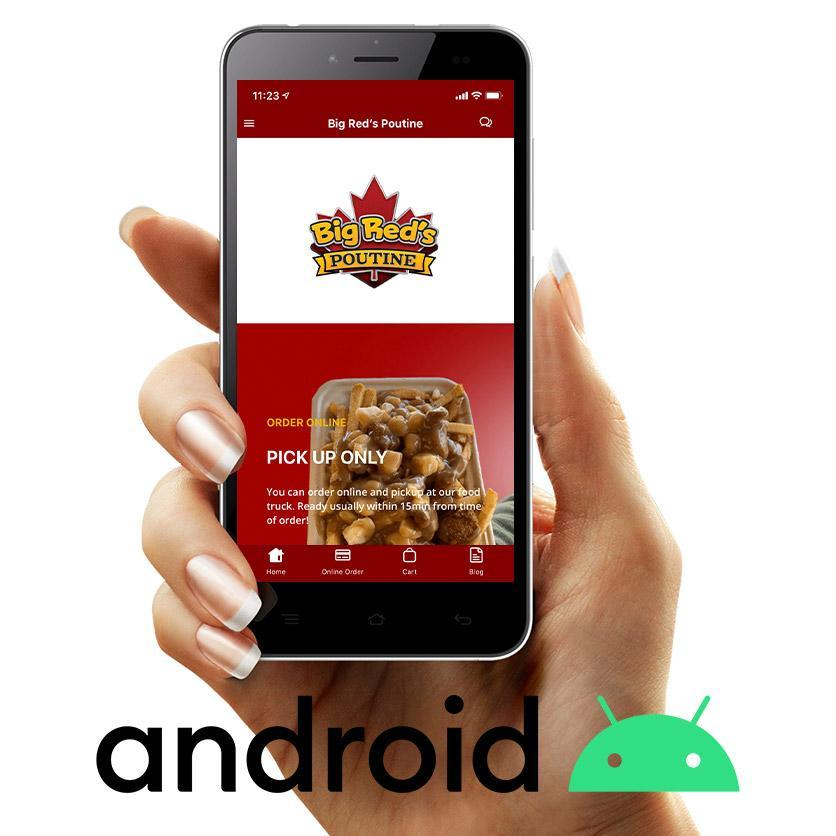 big reds poutine android app