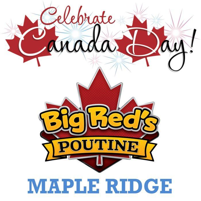 big reds poutine canada day