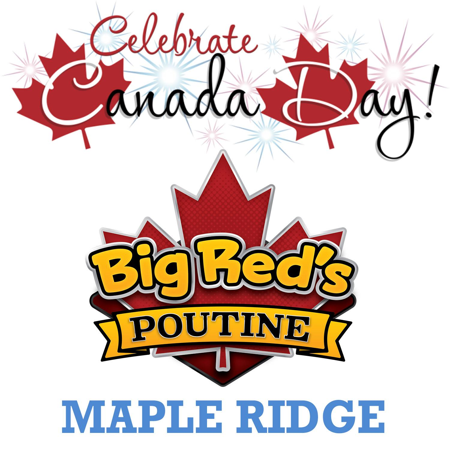 big reds poutine canada day