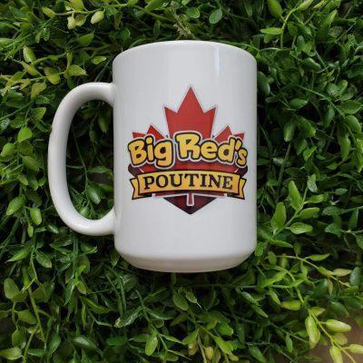 big reds poutine mug